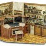 Kitchen and dining room  - Kitchen roombox with kitchen stove