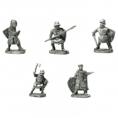 Teutonic Knights  Teutonic knights set includes: a Magister, a Komtur (Commander), 3 knights with various armament.