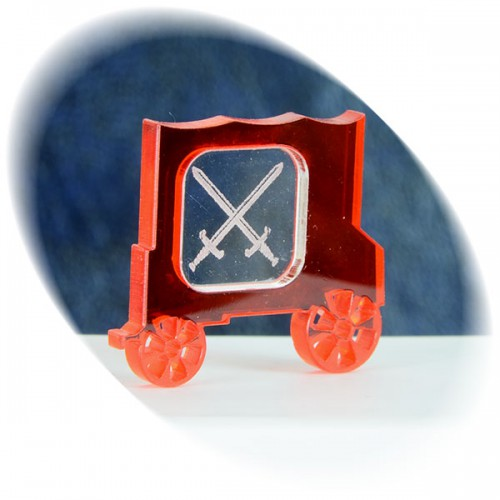Weapon (swords) in the red wagon token