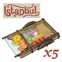 Wheelbarrows. Player's organizer (for Istanbul)