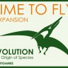 Evolution board game Time to Fly Expansion - Front side of the Evolution: Time to Fly. Expansion.