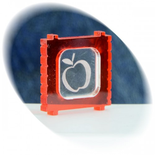 Food (apple) in the red box token