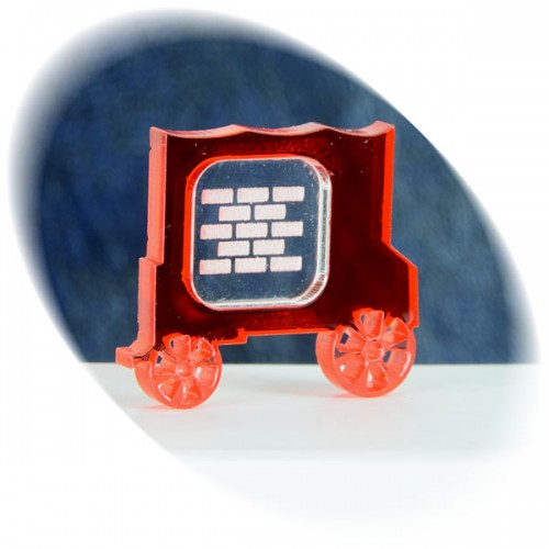 Bricks (clay) in the red wagon token
