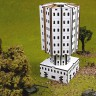 Cedrus tower  - Wooden terrain for war games Cedrus tower