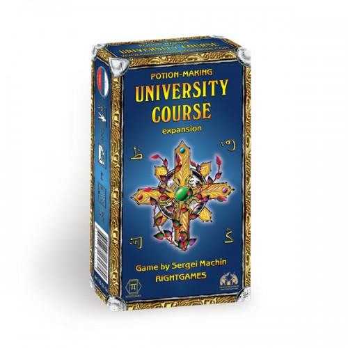 Potion-making board game University course expansion