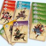 Shinobi. War of clans board game - Playing cards from the Shinobi. War of clans board game
