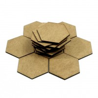 Wooden hexagon tiles (for game designers)