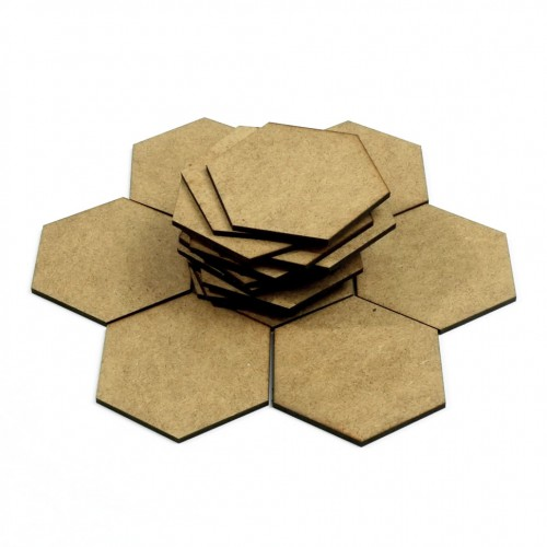 Wooden hexagon tiles (for game designers)  Wooden hexagon tiles (for game designers) can help you to create your own game.