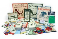 Evolution Board game with Expansions Set and protectors