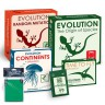 Evolution Board game with Expansions Set and protectors  - Evolution set -  5  boxes - The Origin od Species, Time to Fly, Continents, Random mutation, Variation