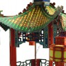 Chinese gazebo  - Chinese lanterns