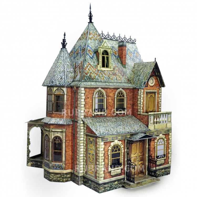 Buy Victorian Dollhouse 1 With Furniture In Online Store