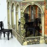 Victorian Dollhouse #1 with furniture  - Furniture for dolls