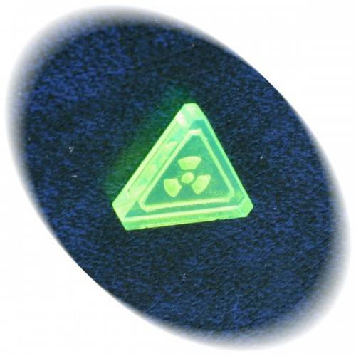 Radiation token (green)