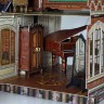 Victorian Dollhouse #2 with furniture  - Victorian Dollhouse #2 with furniture