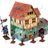 Sailor's house  - Sailor's houseand 28 mm miniatures