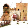 Old Gate  - Old gate terrain with 28 mm miniatures