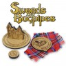 Wooden tokens set (for Swords and Bagpipes)  - Wooden tokens set for Sword and Bagpipes board game