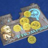 Gold coins set (for Swords and Bagpipes)  - Swords and Bagpipes coins