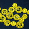 Gold coins set (for Swords and Bagpipes)  - Great plastic coin tokens for Swords and Bagpipes