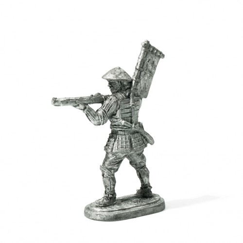 Ashigaru Arquebusier  Ashigaru Arquebusier is a miniature for collectors.