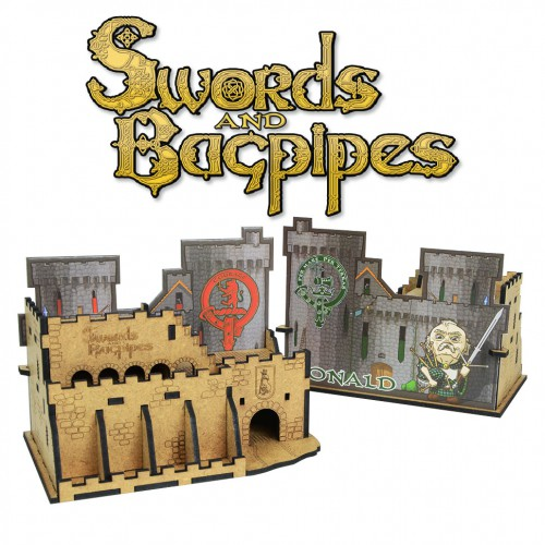The castle. Player's organizer (for Swords and Bagpipes)