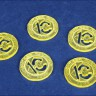 10-gold coin for Swords and Bagpipes  - 10-gold coins for Swords and Bagpipes