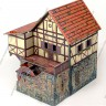 Watermill  - Medieval Watermill made of cardboard