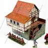 Watermill  - Watermill terrain and miniatures 28 mm