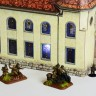 Synagogue of Delémont  - Synagogue of Delémont cardboard model for war games and games with miniatures
