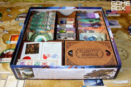 FancyBox Eldritch Horror Organizer  FancyBox Eldritch Horror Organizer is perfectly useful for all owners of Eldritch Horror board game.