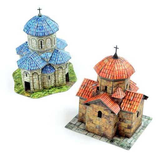 Medieval churches (terrain set)