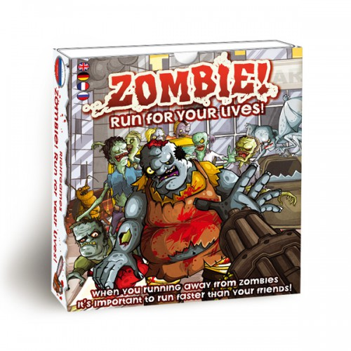 Buy Zombie! Run for your lives! board game