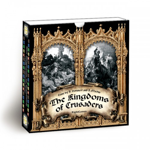 The Kingdoms of Crusaders board game The Kingdoms of Crusaders is a card game in which players vie for power in five states of the crusaders.