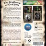 The Kingdoms of Crusaders board game - Back side of the The Kingdoms of Crusaders boardgame