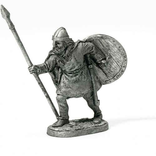 Viking with a spear