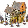 Bakery  - Bakery terrain with 28 mm miniatures