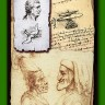 The Enigma of Leonardo board game - An example of the playing card with Leonardo the Great works