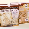 The Enigma of Leonardo. Quintis Fontis board game - The Enigma of Leonardo. Quintis Fontis. boardgame box