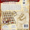 The Enigma of Leonardo. Quintis Fontis board game - Back side of the The Enigma of Leonardo. Quintis Fontis. boardgame