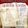 The Enigma of Leonardo. Quintis Fontis board game - Front size of the The Enigma of Leonardo. Quintis Fontis. boardgame
