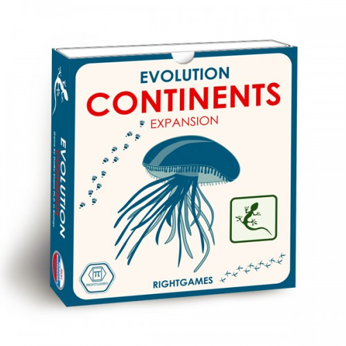 Evolution board game Continents Expansion