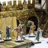 Town wall  - Miniatures of actors 25 mm
