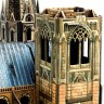 Gothic cathedral  - Gothic cathedral made of cardboard