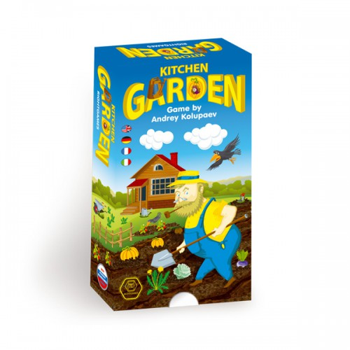 Kitchen Garden board game Kitchen Garden is a funny board game for kids and their parents who want to be masters of farming.