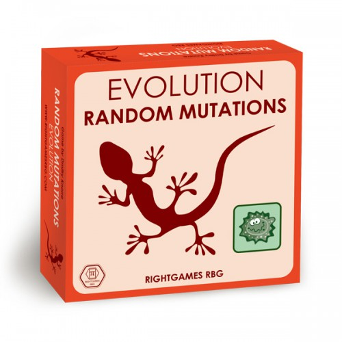 Evolution: Random Mutations board game expansion Evolution: Random mutations is not a replacement for the original Evolution or an extension to it, this is a standalone board game.