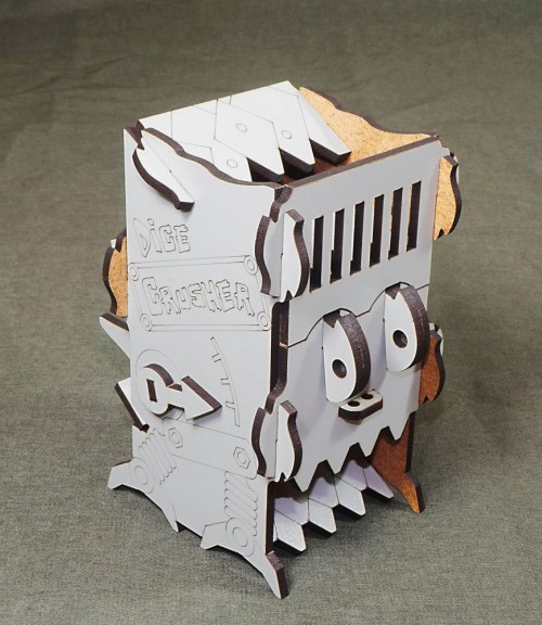 Dice Crusher Grey Dice Tower