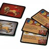 Swords and Bagpipes board game - Cards of English arms