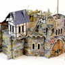 Country buildings set  - Barbican terrain