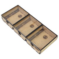 Token Storage Box - Three Sections